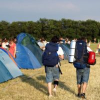Zapraszamy na Festiwalowe Pole Namiotowo-Kempingowe