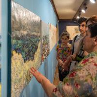Fotorelacja z wernisażu prac ormiańskich artystów