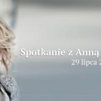 Zapraszamy na poniedziałkowe spotkanie z Anną Seniuk